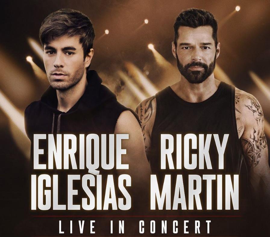 Ricky Martin y Enrique Iglesias en Miami