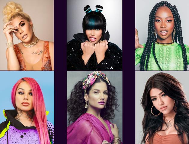 Mariah Angeliq, Corina Smith, Nohemy y La Duraca completan el grupo de mujeres que estarán en el evento virtual Urban Divas United